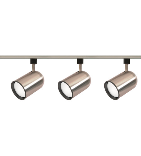 Nuvo tk342 signature 3 light brushed nickel track lighting ceiling light aloadofball Images