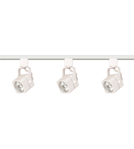 Nuvo tk345 signature 3 light white track lighting ceiling light aloadofball Images