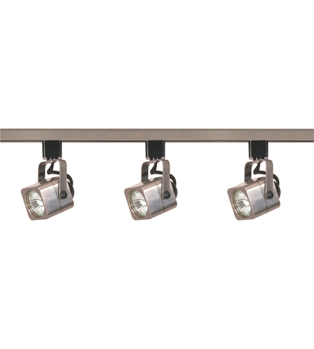 Nuvo tk347 signature 3 light brushed nickel track lighting ceiling light aloadofball Choice Image