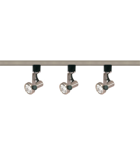 timeless design 62b32 f46af Nuvo TK353 Signature 3 Light Brushed Nickel Track Lighting Ceiling Light