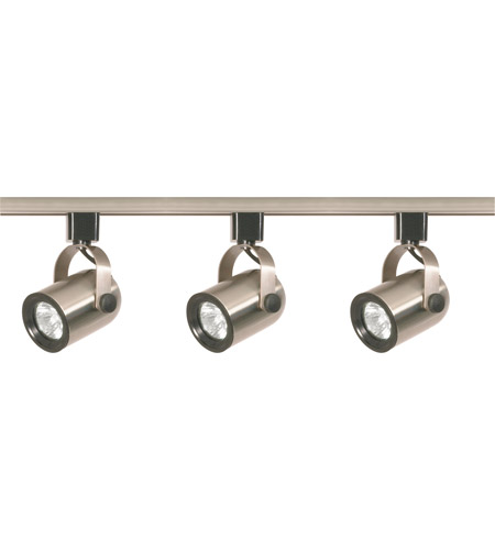best service 62e48 5ed91 Nuvo TK354 Signature 3 Light Brushed Nickel Track Lighting Ceiling Light