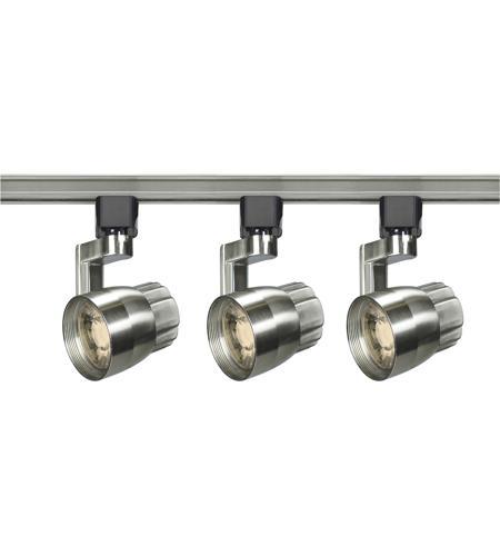 Nuvo tk427 signature 3 light 120v brushed nickel track kit ceiling light aloadofball Choice Image
