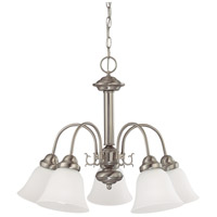 Nuvo 60/3240 Ballerina 5 Light 24 inch Brushed Nickel Chandelier Ceiling Light