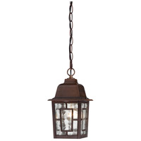 Nuvo 60/3490 Banyan 1 Light 6 inch Rustic Bronze Outdoor Hanging Lantern