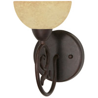 Tapas 1 Light 6 inch Old Bronze Vanity & Wall Wall Light
