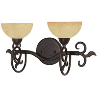 Nuvo 60/046 Tapas 2 Light 17 inch Old Bronze Vanity & Wall Wall Light