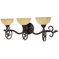 Nuvo 60/047 Tapas 3 Light 24 inch Old Bronze Vanity & Wall Wall Light