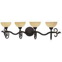 Tapas 4 Light 32 inch Old Bronze Vanity & Wall Wall Light