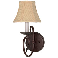 Nuvo 60/049 Tapas 1 Light 7 inch Old Bronze Vanity & Wall Wall Light
