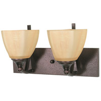 Nuvo Lighting Normandy 2 Light Vanity & Wall in Copper Bronze 60/060