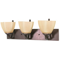 Nuvo 60/061 Normandy 3 Light 22 inch Copper Bronze Vanity & Wall Wall Light