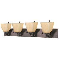 Nuvo Lighting Normandy 4 Light Vanity & Wall in Copper Bronze 60/062