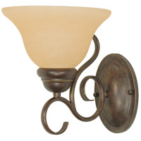 Castillo 1 Light 7 inch Sonoma Bronze Vanity & Wall Wall Light