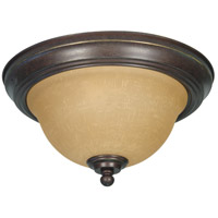 Nuvo 60/1037 Castillo 2 Light 11 inch Sonoma Bronze Flushmount Ceiling Light