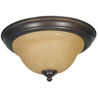 Nuvo 60/1038 Castillo 2 Light 13 inch Sonoma Bronze Flushmount Ceiling Light