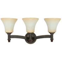 Nuvo Lighting Viceroy 3 Light Vanity & Wall in Golden Umber 60/1049 photo thumbnail