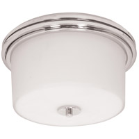 Nuvo Lighting Jet 2 Light Flushmount in Polished Chrome 60/1069