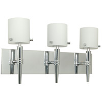 Nuvo Lighting Jet 3 Light Vanity & Wall in Polished Chrome 60/1073
