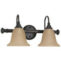 Mericana 2 Light 18 inch Old Bronze Vanity & Wall Wall Light