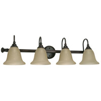 Mericana 4 Light 32 inch Old Bronze Vanity & Wall Wall Light