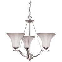Nuvo Lighting Delano 3 Light Chandelier in Brushed Nickel 60/1113 photo thumbnail