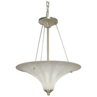 Nuvo Lighting Delano 2 Light Pendant in Brushed Nickel 60/1121 photo thumbnail