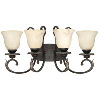 Nuvo Lighting Cipriani 4 Light Vanity & Wall in Garnet Bronze 60/1164 photo thumbnail