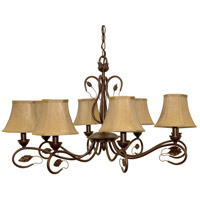 Nuvo Lighting Vine 8 Light Chandelier in Sonoma Bronze 60/1169 photo thumbnail