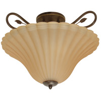 Nuvo Lighting Vine 3 Light Semi-Flush in Sonoma Bronze 60/1173