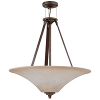 Nuvo Lighting Viceroy 4 Light Pendant in Golden Umber 60/1182