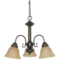 Nuvo 60/1252 Ballerina 3 Light 20 inch Mahogany Bronze Chandelier Ceiling Light