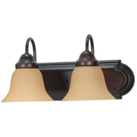 Nuvo 60/1264 Ballerina 2 Light 18 inch Mahogany Bronze Vanity & Wall Wall Light photo thumbnail