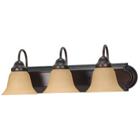 Ballerina 3 Light 24 inch Mahogany Bronze Vanity & Wall Wall Light