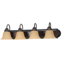Nuvo Lighting Ballerina 4 Light Vanity & Wall in Mahogany Bronze 60/1266