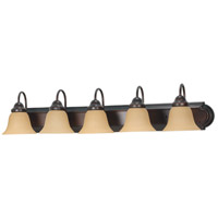 Nuvo 60/1267 Ballerina 5 Light 36 inch Mahogany Bronze Vanity & Wall Wall Light photo thumbnail