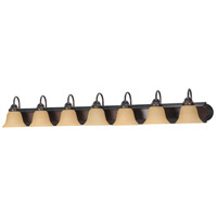 Nuvo Lighting Ballerina 7 Light Vanity & Wall in Mahogany Bronze 60/1268