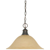 Nuvo Lighting Signature 1 Light Pendant in Mahogany Bronze 60/1276