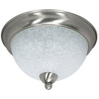 Nuvo 60/131 South Beach 3 Light 15 inch Brushed Nickel Flushmount Ceiling Light photo thumbnail