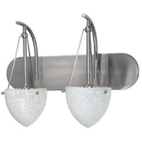 Nuvo Lighting South Beach 2 Light Vanity & Wall in Brushed Nickel 60/135