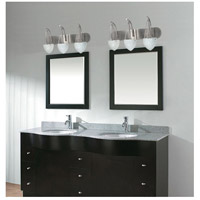 Nuvo 60/136 South Beach 3 Light 24 inch Brushed Nickel Vanity & Wall Wall Light alternative photo thumbnail