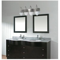 Nuvo Lighting South Beach 4 Light Vanity & Wall in Brushed Nickel 60/137 alternative photo thumbnail
