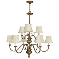 Nuvo Lighting Vanguard 9 Light Chandelier in Flemish Gold 60/140