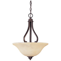Nuvo 60/1409 Anastasia 3 Light 16 inch Copper Espresso Pendant Ceiling Light
