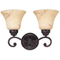 Nuvo 60/1413 Anastasia 2 Light 16 inch Copper Espresso Vanity & Wall Wall Light photo thumbnail