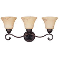 Nuvo 60/1414 Anastasia 3 Light 23 inch Copper Espresso Vanity & Wall Wall Light  photo thumbnail