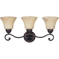 Nuvo 60/1414 Anastasia 3 Light 23 inch Copper Espresso Vanity & Wall Wall Light