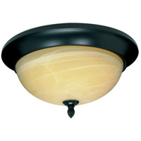 Nuvo Lighting Vanguard 3 Light Flushmount in Textured Black 60/143