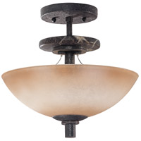 Nuvo Lighting Madison 2 Light Semi-Flush in Ledgestone 60/1445 photo thumbnail