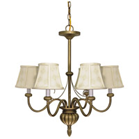 Nuvo Lighting Vanguard 5 Light Chandelier in Flemish Gold 60/145