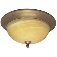 Nuvo Lighting Vanguard 3 Light Flushmount in Flemish Gold 60/146